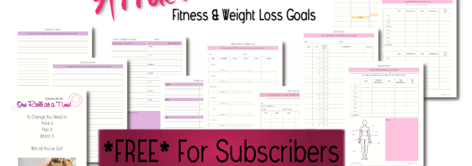 Fitness & Weight Loss Planner – FREE