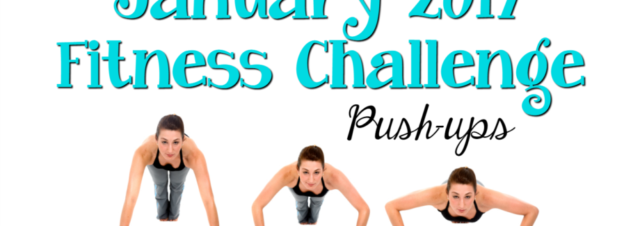 January 2017 Fitness Challenge: Push-ups